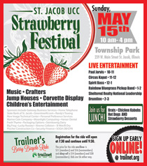 Strawberry Festival Hoseted by St. Jacob UCC in St. Jacob, Illinois - IL
