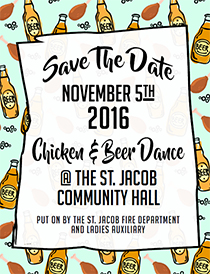 View the Chicken and Beer Dance Flyer